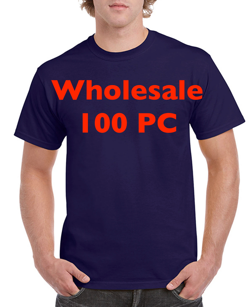 Wholesale of 100 Gildan Heavy Cotton Adult Tee G5000 S-XL