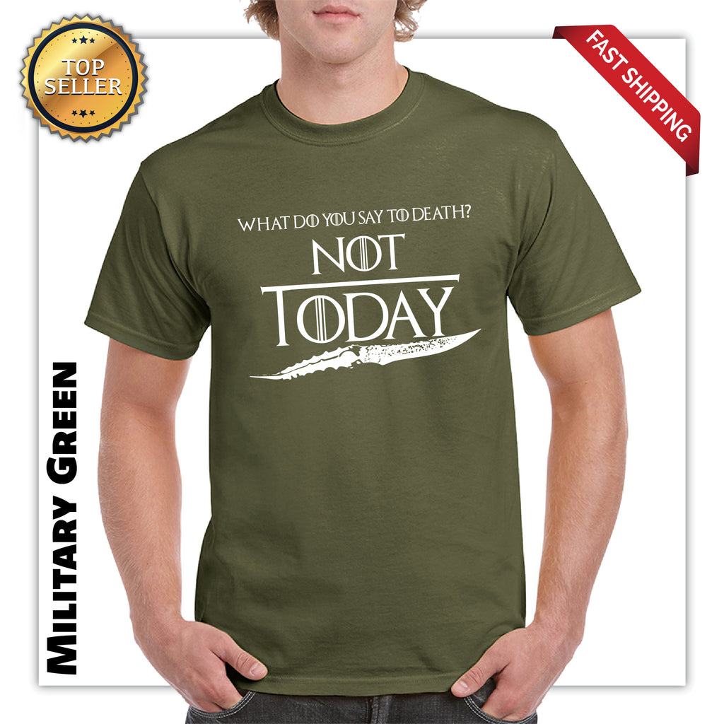 What Do You Say To Death Adult Funny T-Shirt