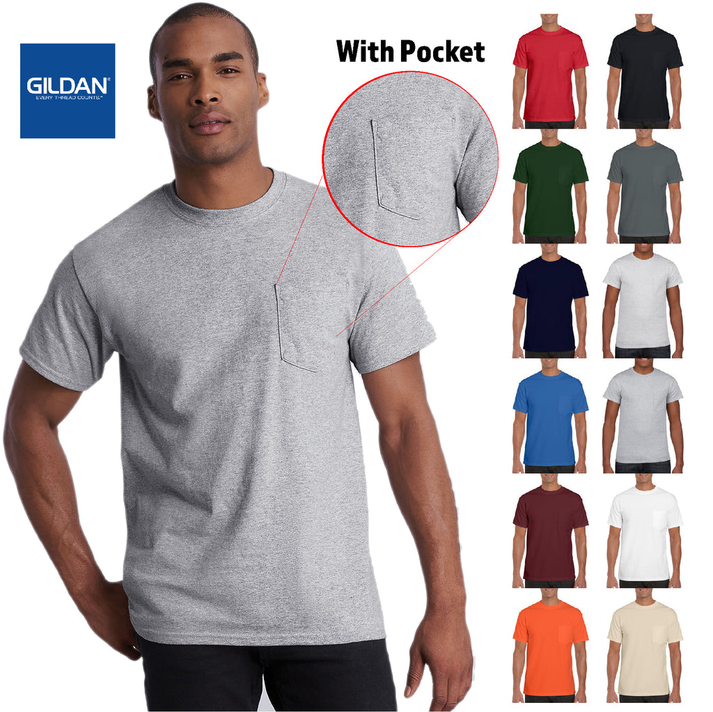 Gildan Ultra Cotton Adult Tee with Pocket G2300