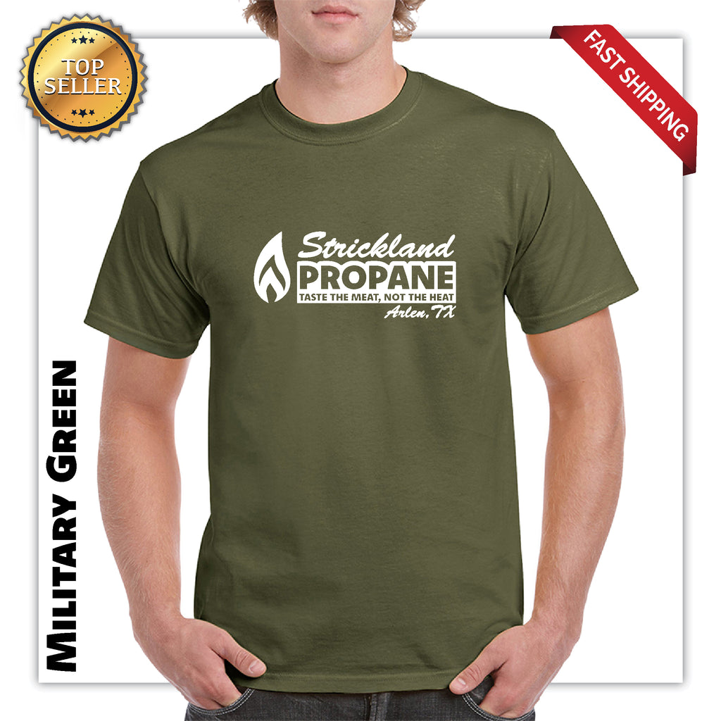 Strickland Propane Official King of The Hill Funny fathers day Gift TV Show Graphic t shirt