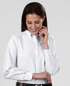 Van Heusen Ladies' Long Sleeve Oxford V0002