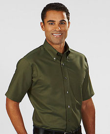 Van Heusen Men's Short Sleeve Oxford V0042