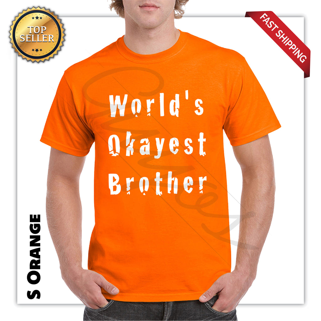 World Okayest Brother Funny T-Shirt