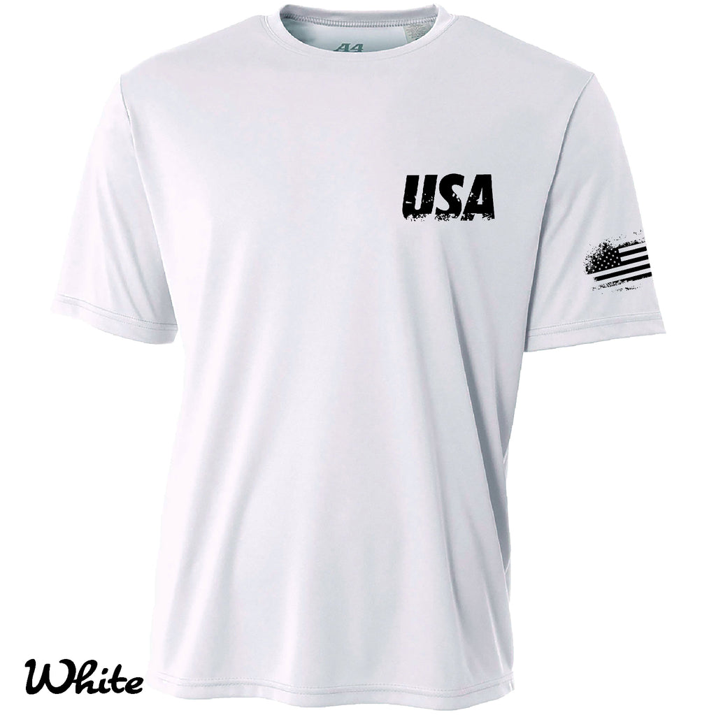 Proud American Motorcycle Cooling Performance t shirt Moisture wicking tee