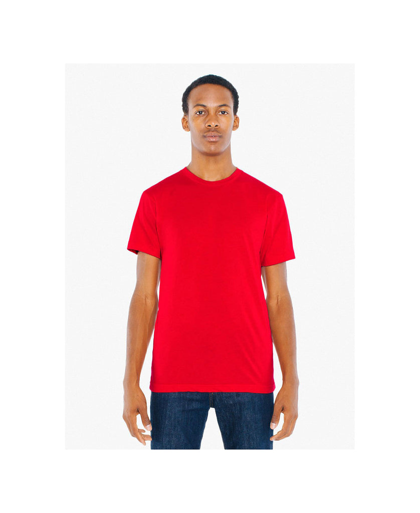 American Apparel Unisex Poly/Cotton Crew Neck Tee AABB401W - guyos apparel.com