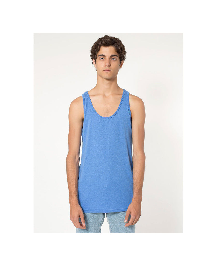 American Apparel Unisex Poly/Cotton Tank AABB408W - guyos apparel.com