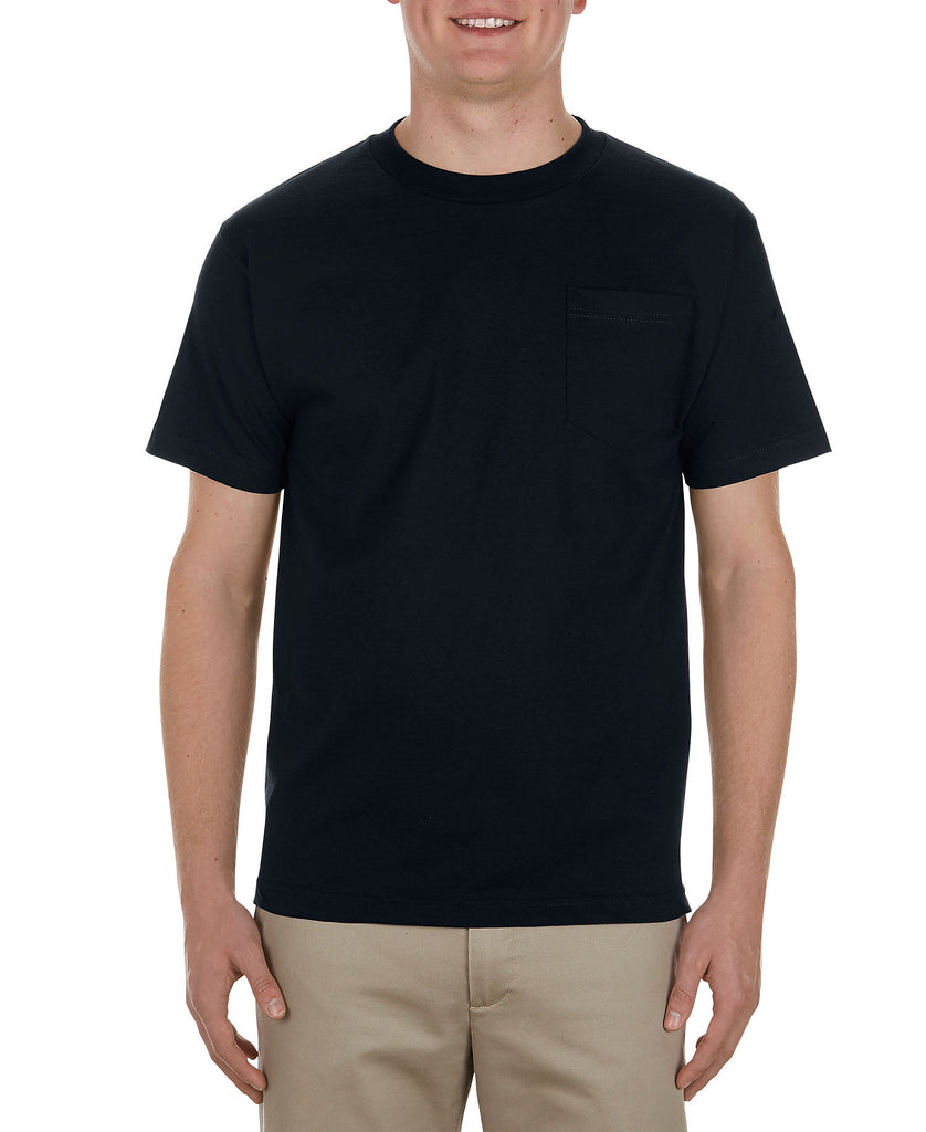 Alstyle Heavyweight Adult Pocket Tee AL1905 - guyos apparel.com