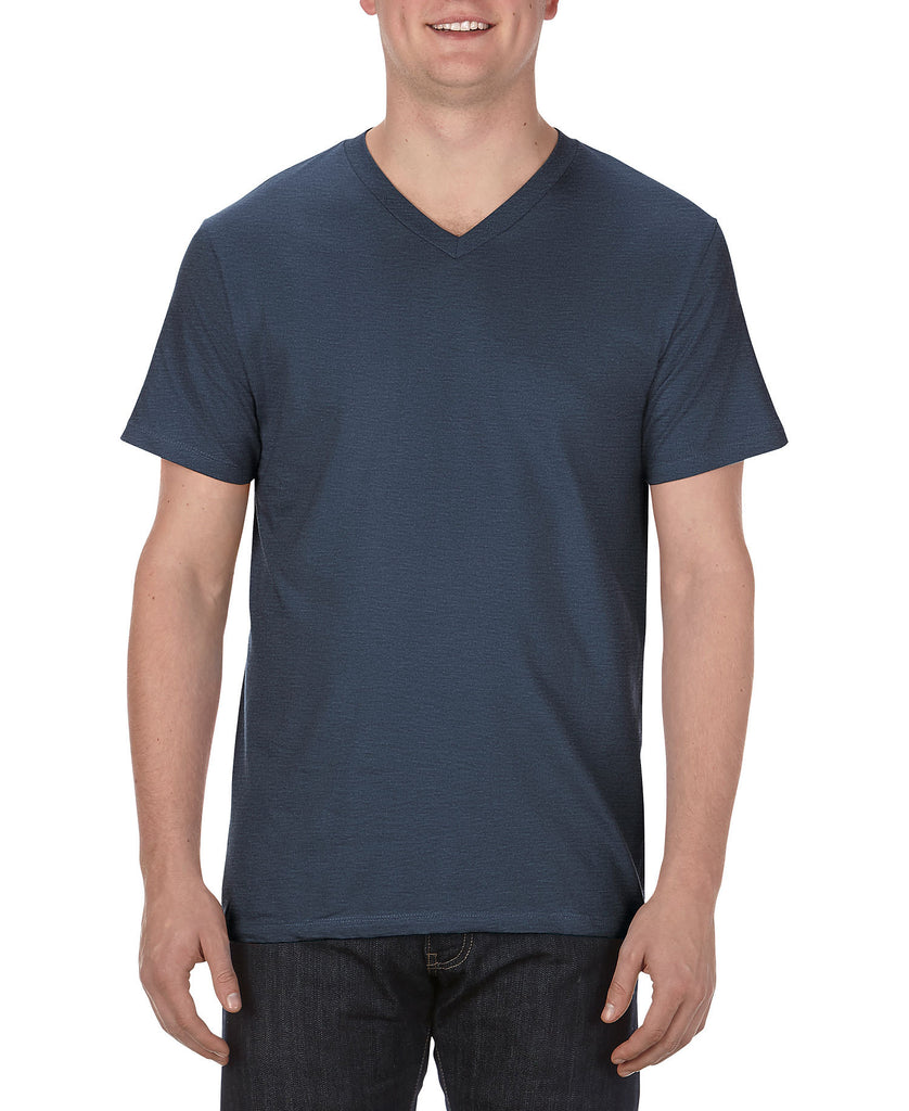 Alstyle Ultimate Adult V-Neck Tee AL5300 - guyos apparel.com