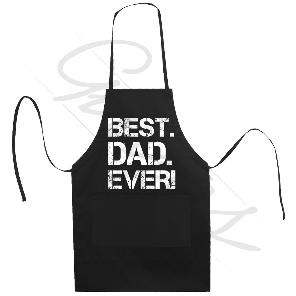 Best Dad Ever Apron Great Fathers day Gift Kitchen cooking and grilling