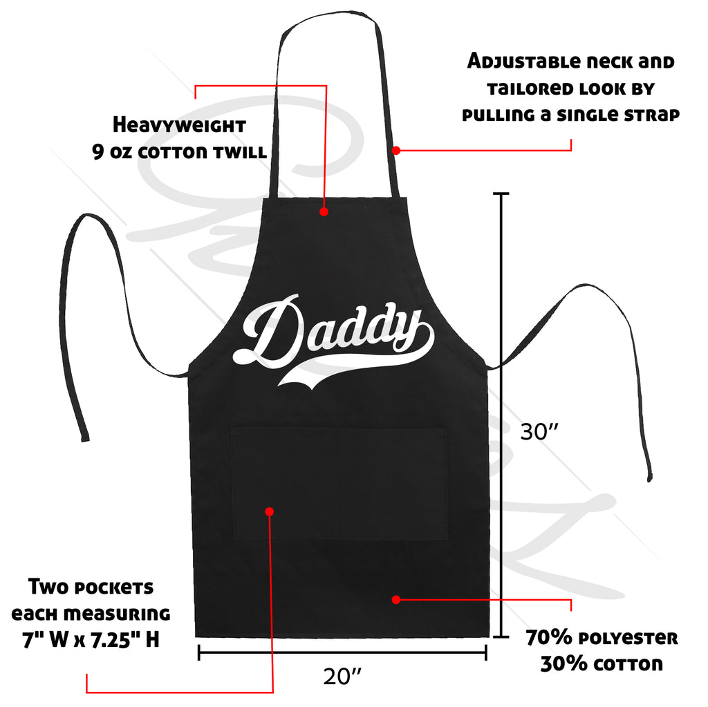 Daddy Sport Fan Apron LB5502