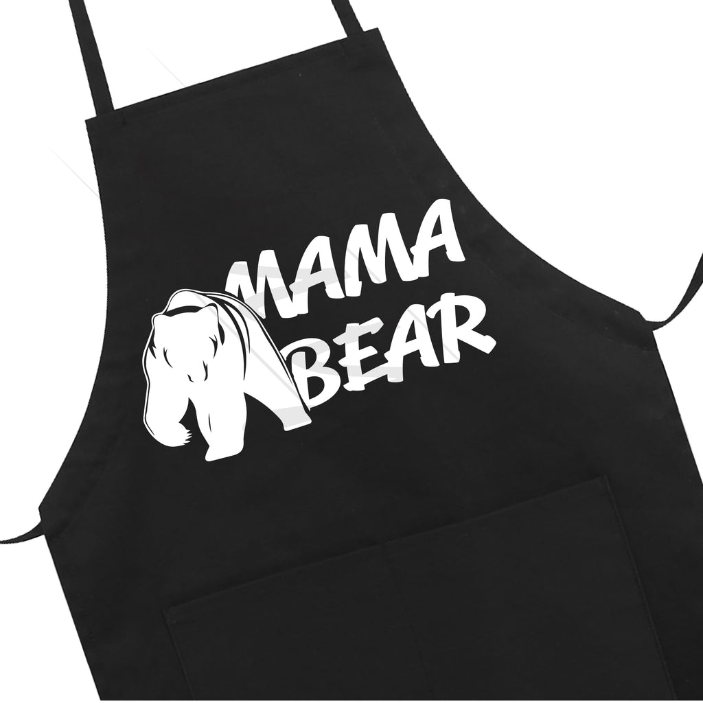 Great Mama Bear Apron Mother's Day Gift Mom Funny LB5502