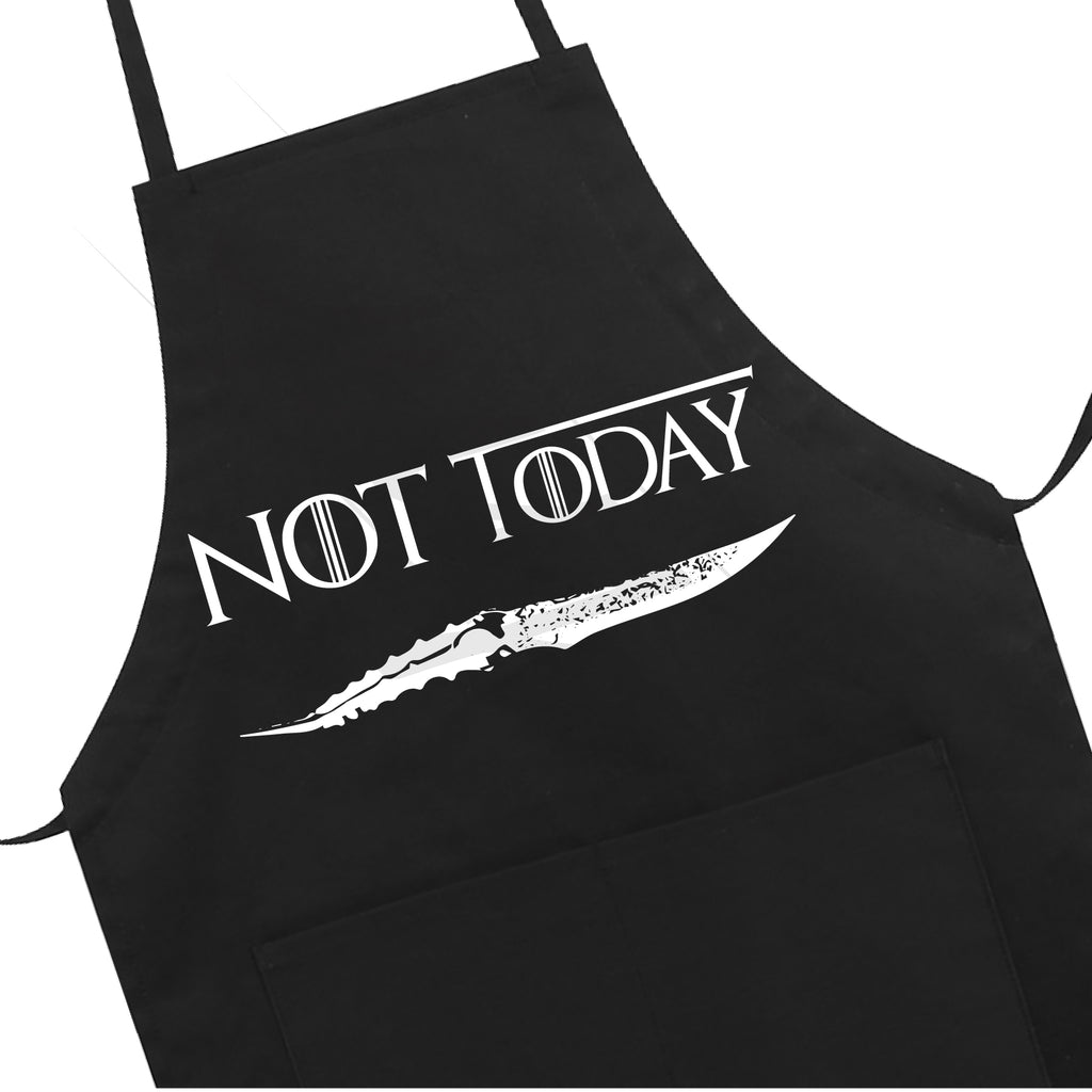 Not Today Apron LB5502