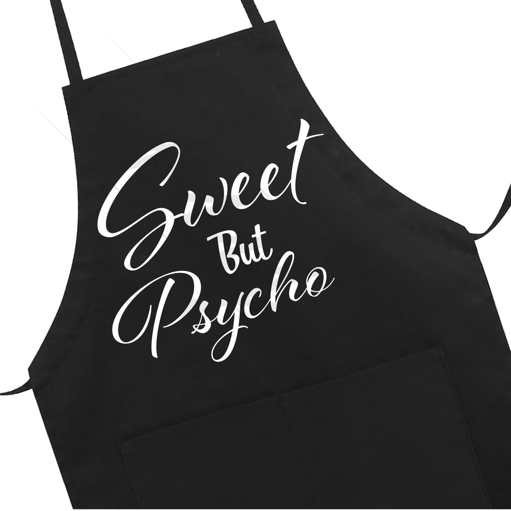 Sweet But Psycho Apron LB5502