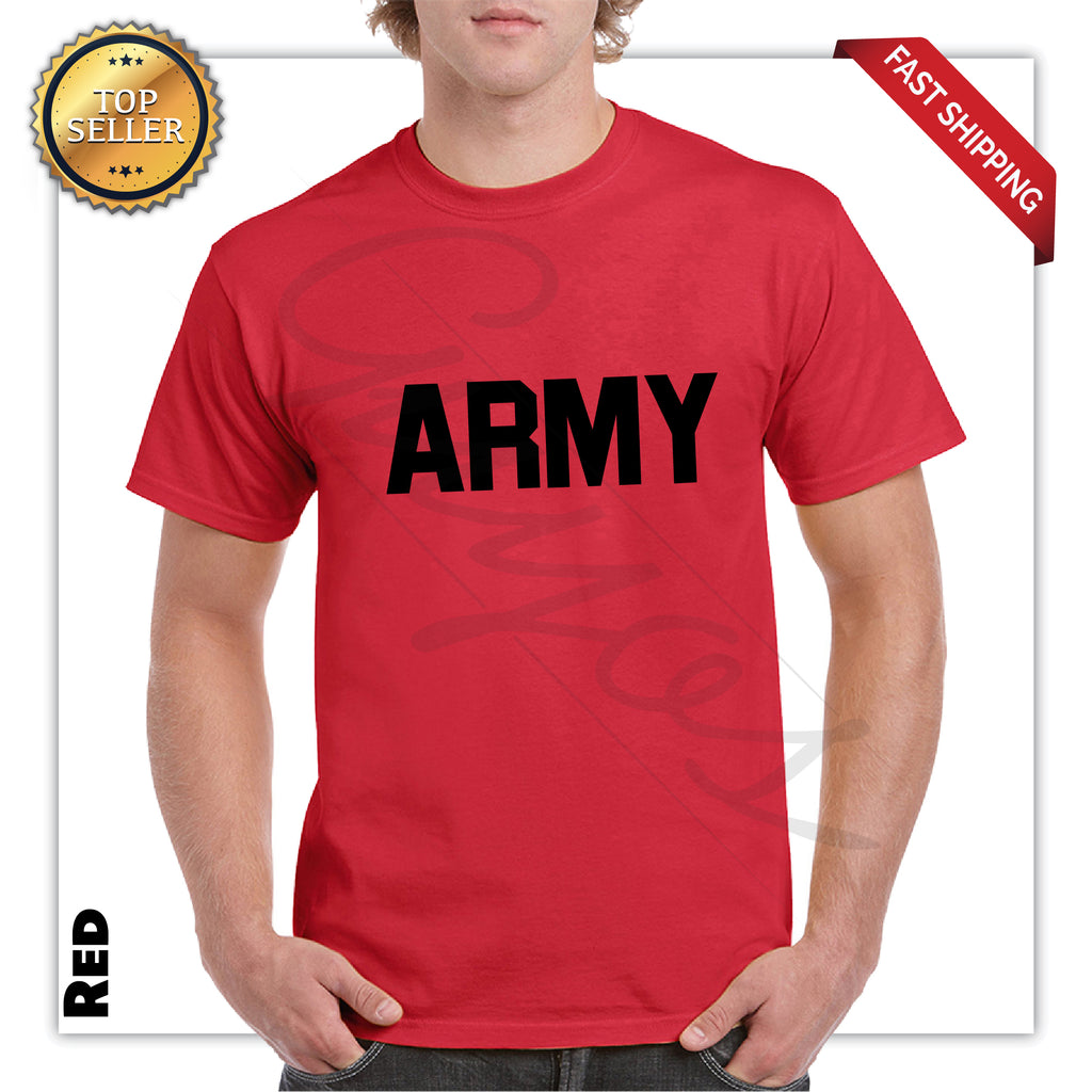 Army Printed Men's Graphic T-Shirt