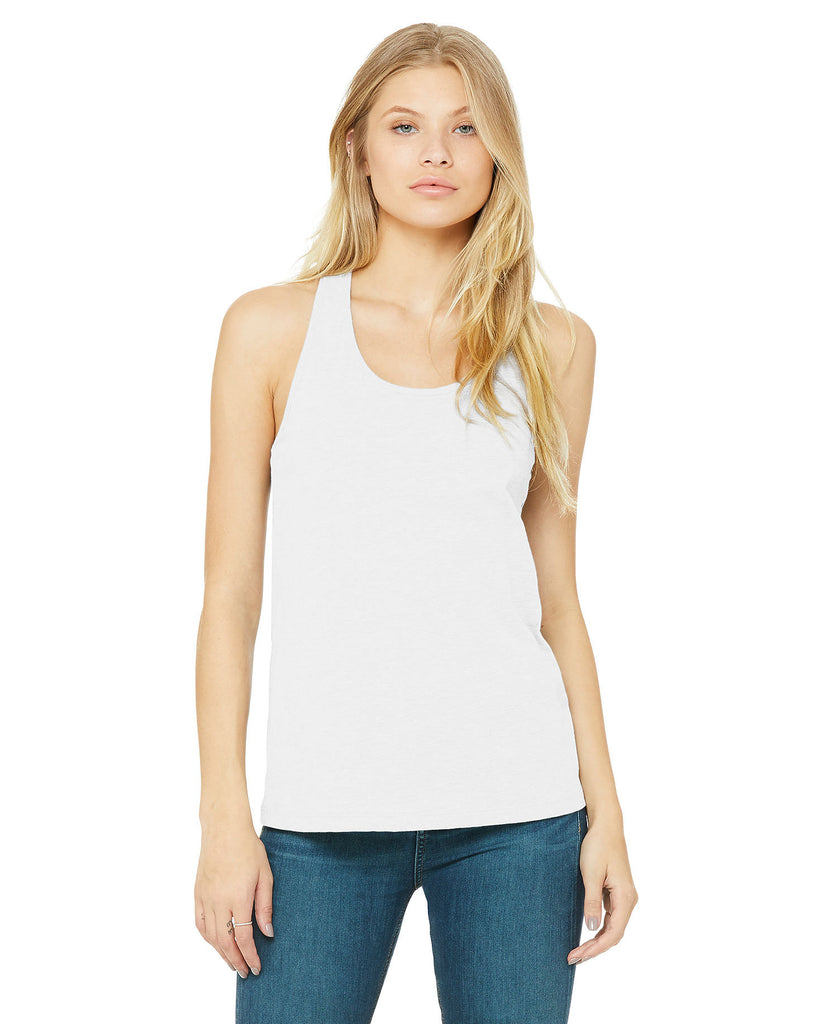 BELLA CANVAS Womens Jersey Racerback Tank B6008 - guyos apparel.com