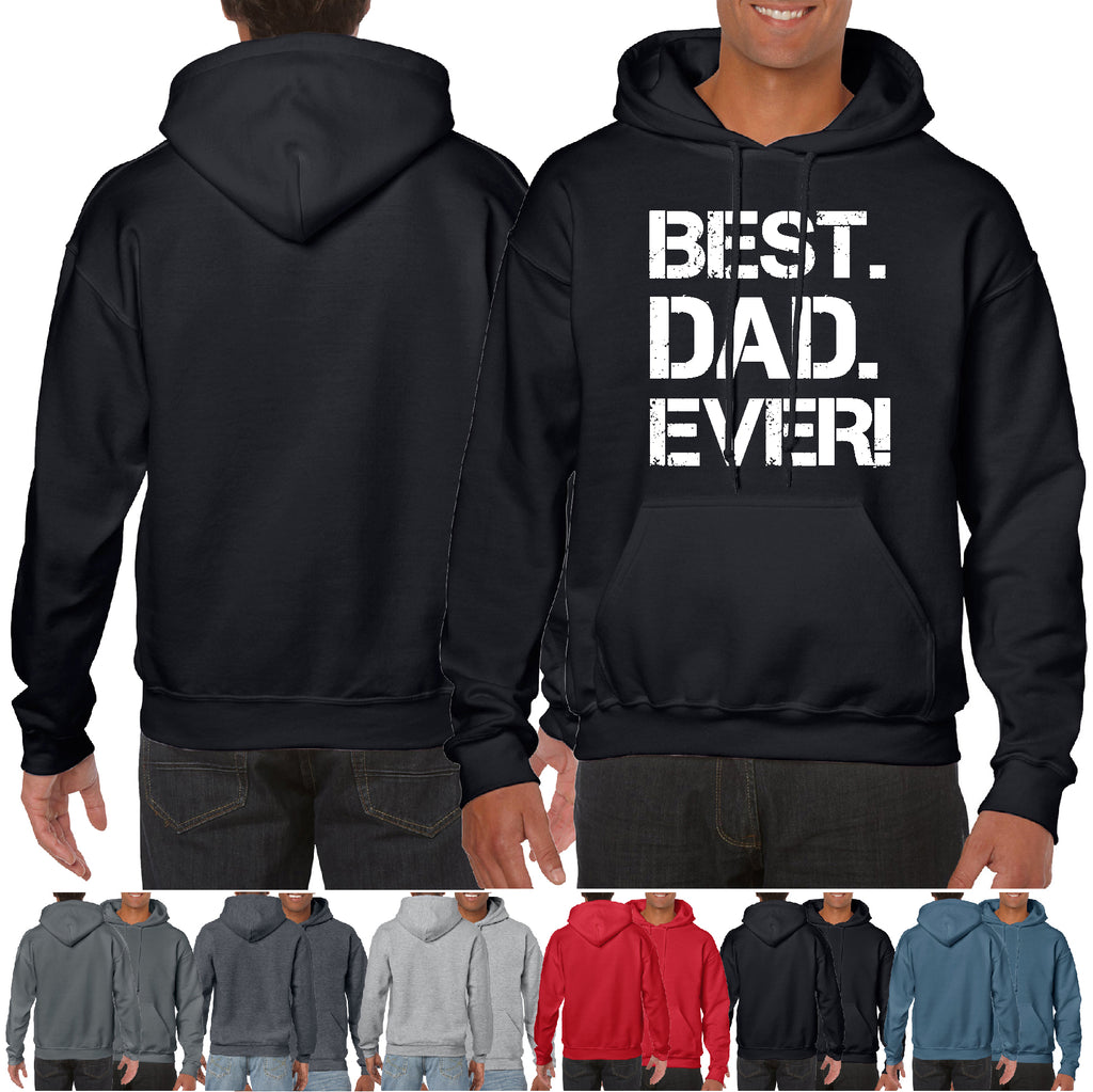 Hoodie Best Dad Ever! Father's Day Gift Great Fishing Hooded HQ