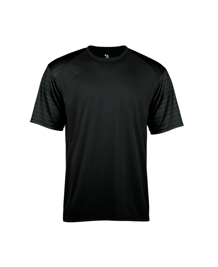 Badger Adult Sport Stripe Tee BG4125 - guyos apparel.com