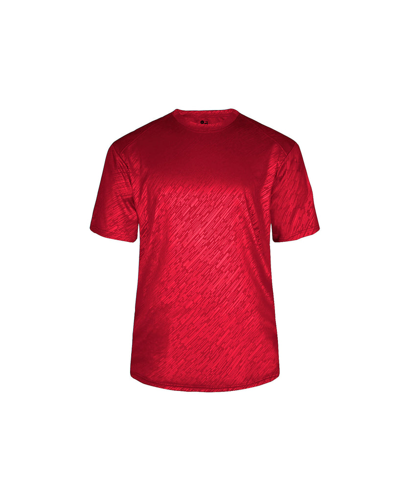 Badger Adult Line Embossed Tee BG4131 - guyos apparel.com
