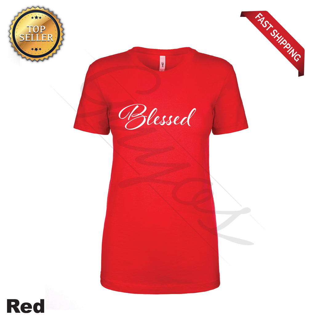 Blessed Printed Women's T-Shirt