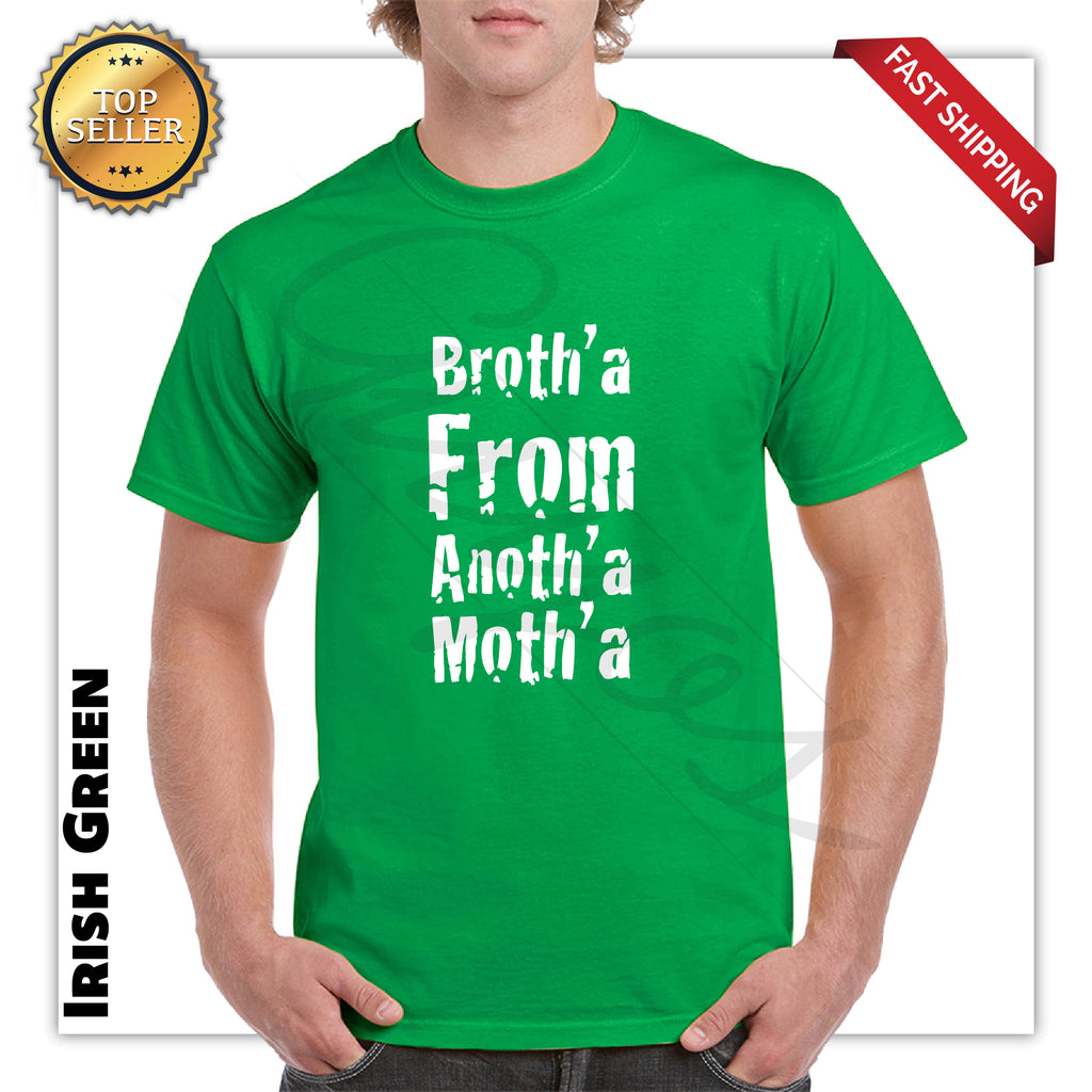 Broth'a from Anoth'a Moth'a Adult Funny T-Shirt - guyos apparel.com