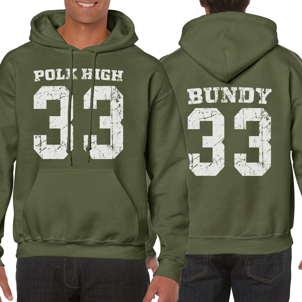 Hoodie Back&Font Polk High Married Funny gift TV Slogans Al Bundy Hooded S-5XL