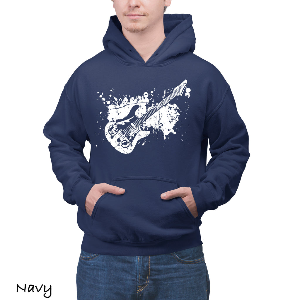 New Hoodie ELECTRIC GUITAR Graphic Gift Idea Funny Novelty Hooded Sweatshirt