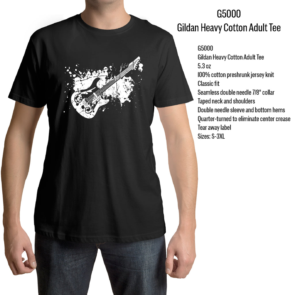 ELECTRIC GUITAR Player Adult Graphic Gift Idea Funny Novelty T shirts (S-3XL)