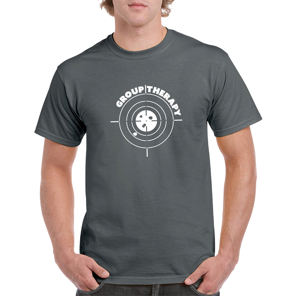 Funny group therapy Guns tee Pro Gun T-Shirt 2nd Amendment Bullets, AR15 Gun Rights Video Gamer Humor Joke for Men & Women T-Shirt - guyos apparel.com
