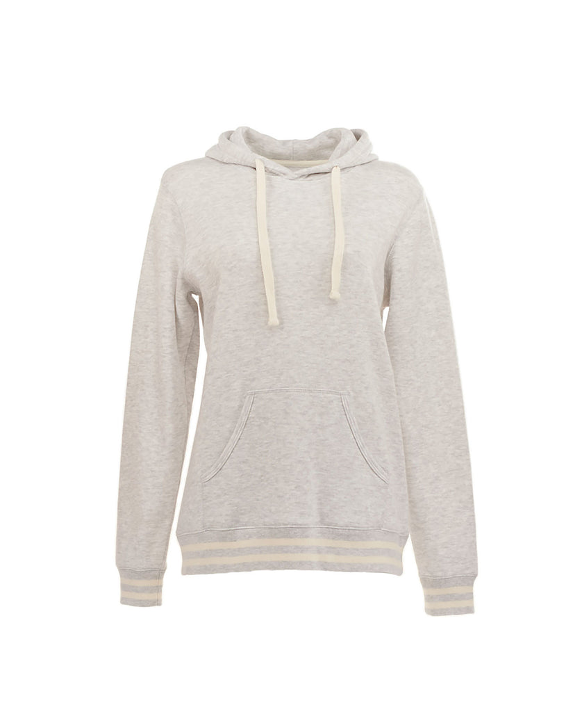 J America Ladies' Relay Hood Fleece JA8651 - guyos apparel.com