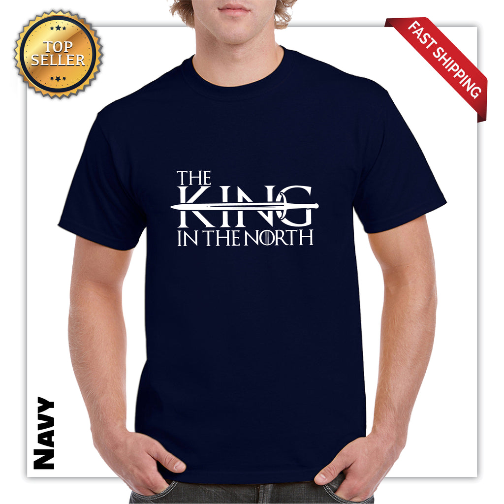King In The North Men's Graphic T-Shirt