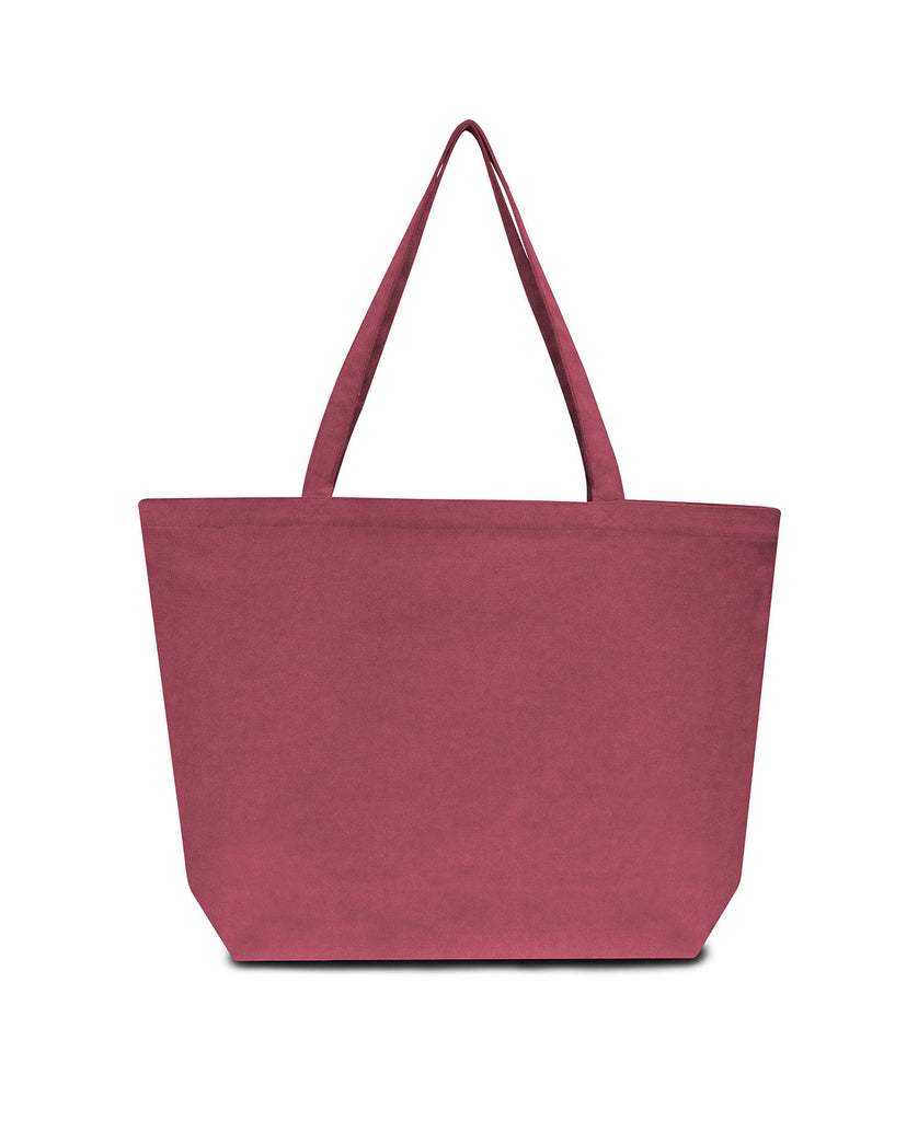 Liberty Bags Seaside Cotton 12 oz Pigment Dyed Large Tote LB8507 - guyos apparel.com