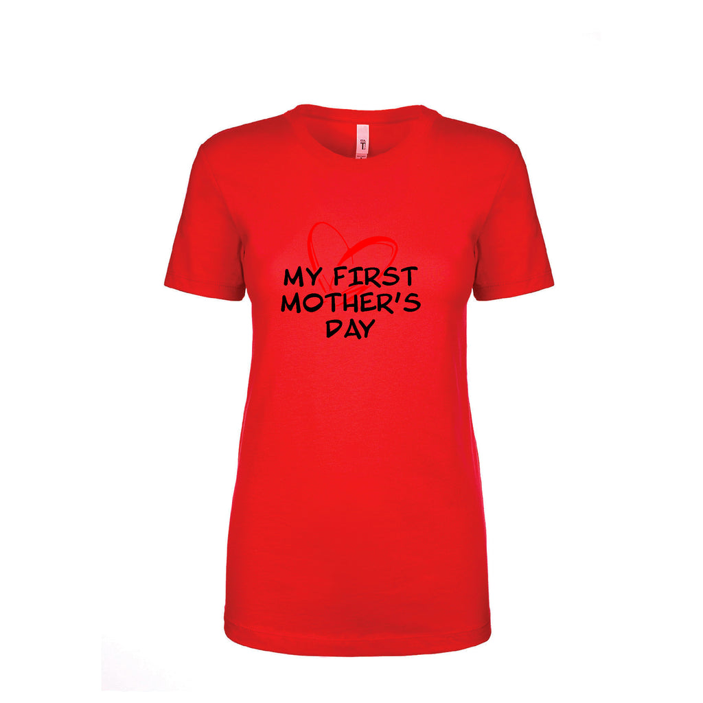 My First Mother's Day Great Gift  first mom  Funny T shirt