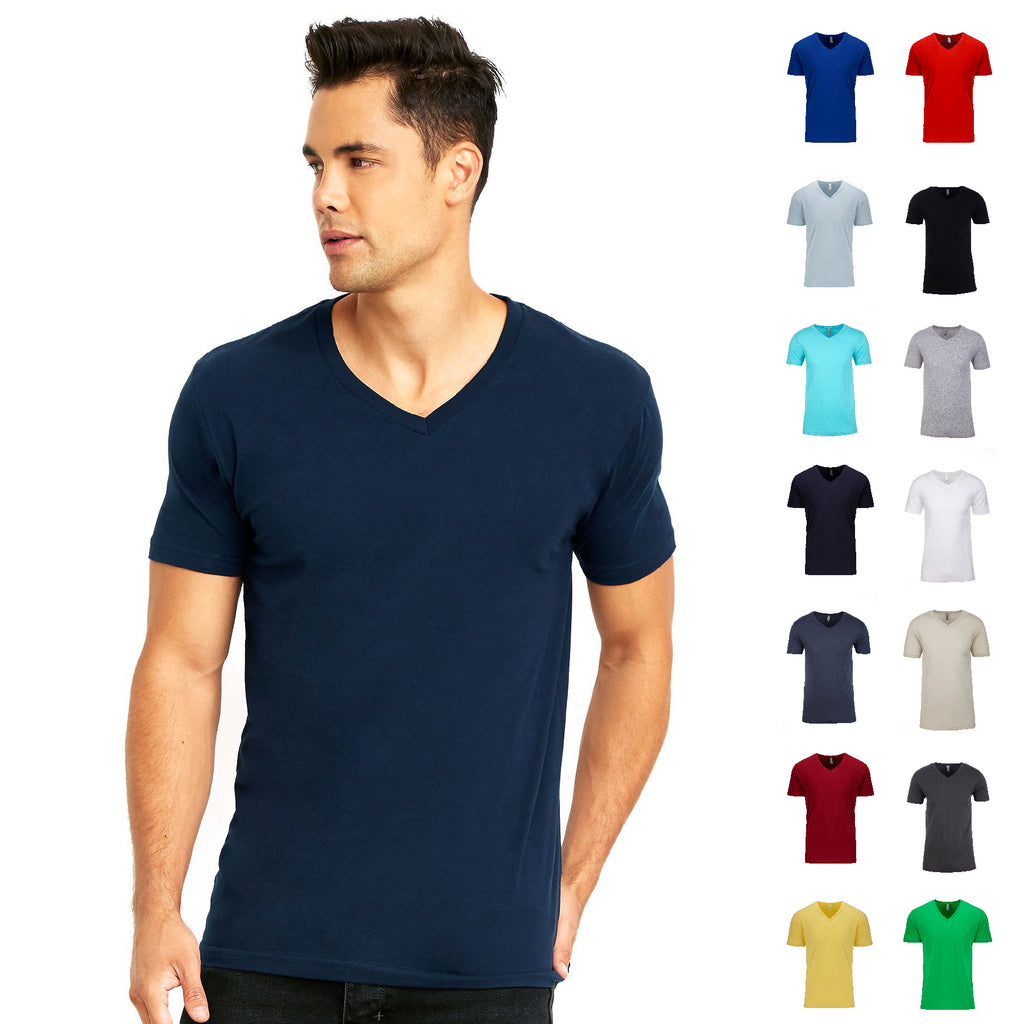 Next Level Men's Cotton V-neck Tee NL3200