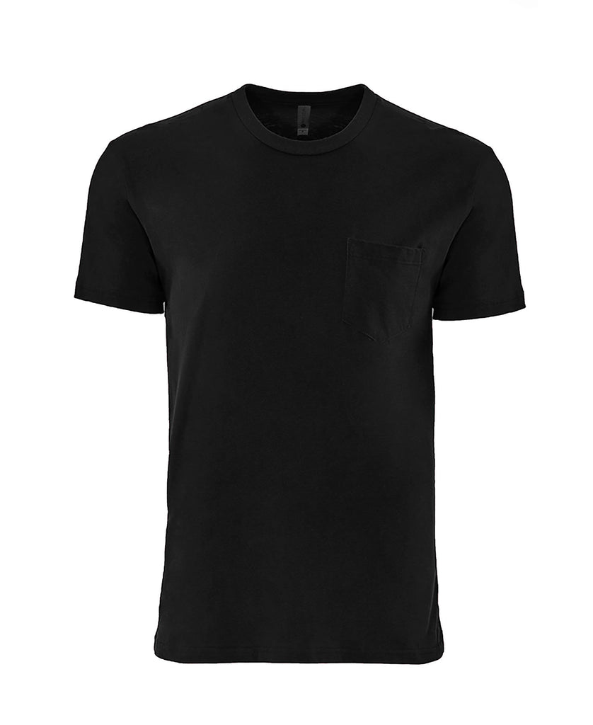 Next Level Adult Cotton Pocket Tee NL3605 - guyos apparel.com
