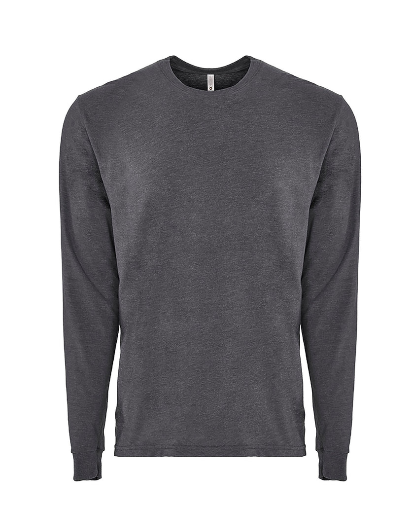 Next Level Adult Sueded Long Sleeve Tee NL6411 - guyos apparel.com