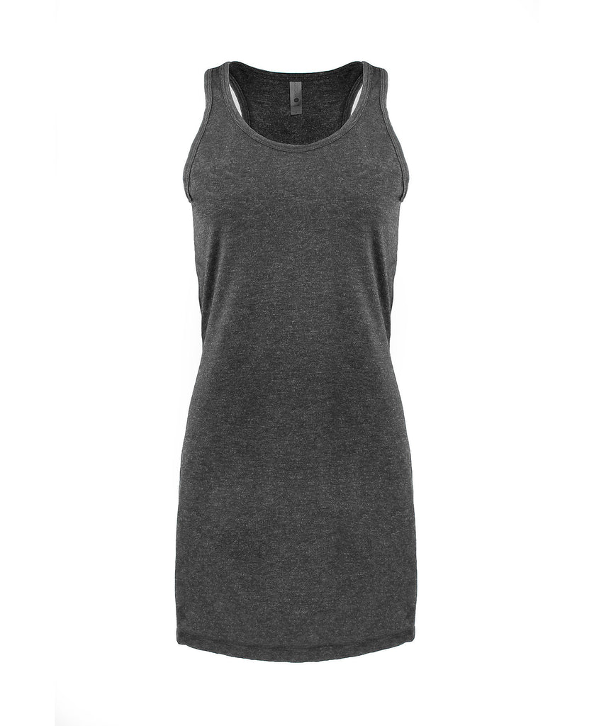 Next Level Women's Tri-Blend Racerback Tank Dress NL6734 - guyos apparel.com