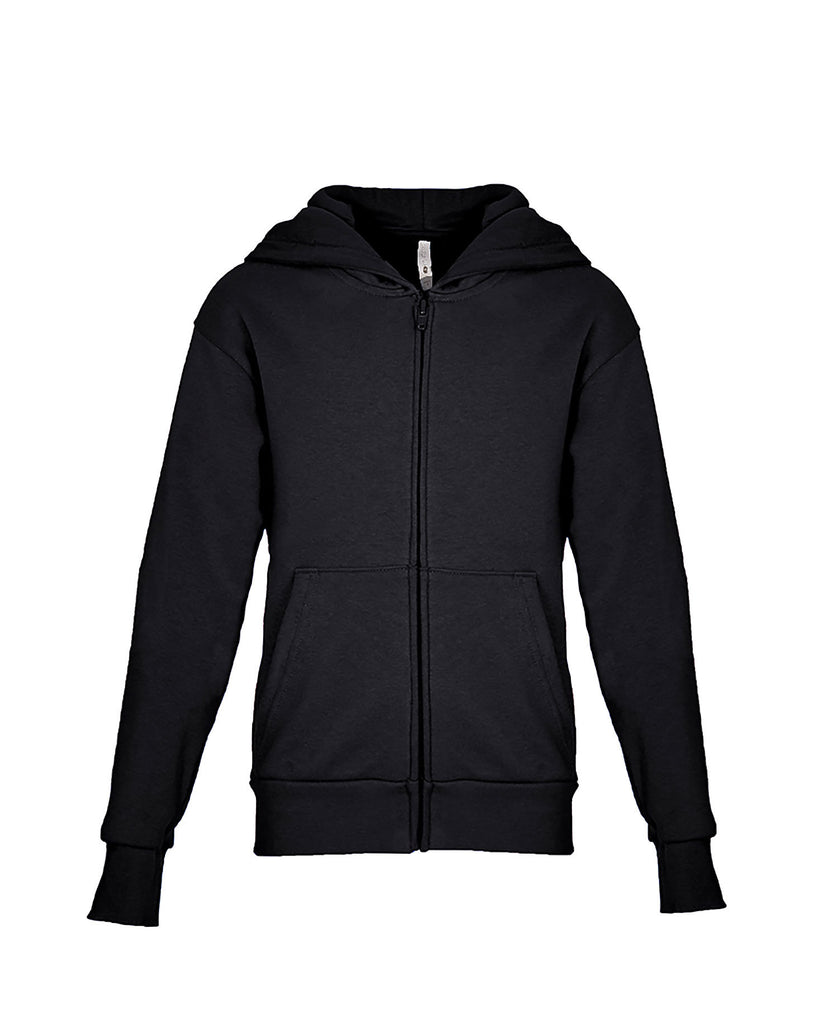 Next Level Youth Fleece Full Zip Hoody NL9103