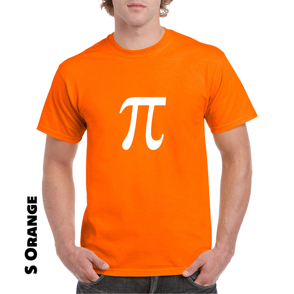 Pi Symbol Adult T-shirt Geek Nerd Math College Science Funny Humor Tee gift tee - guyos apparel.com