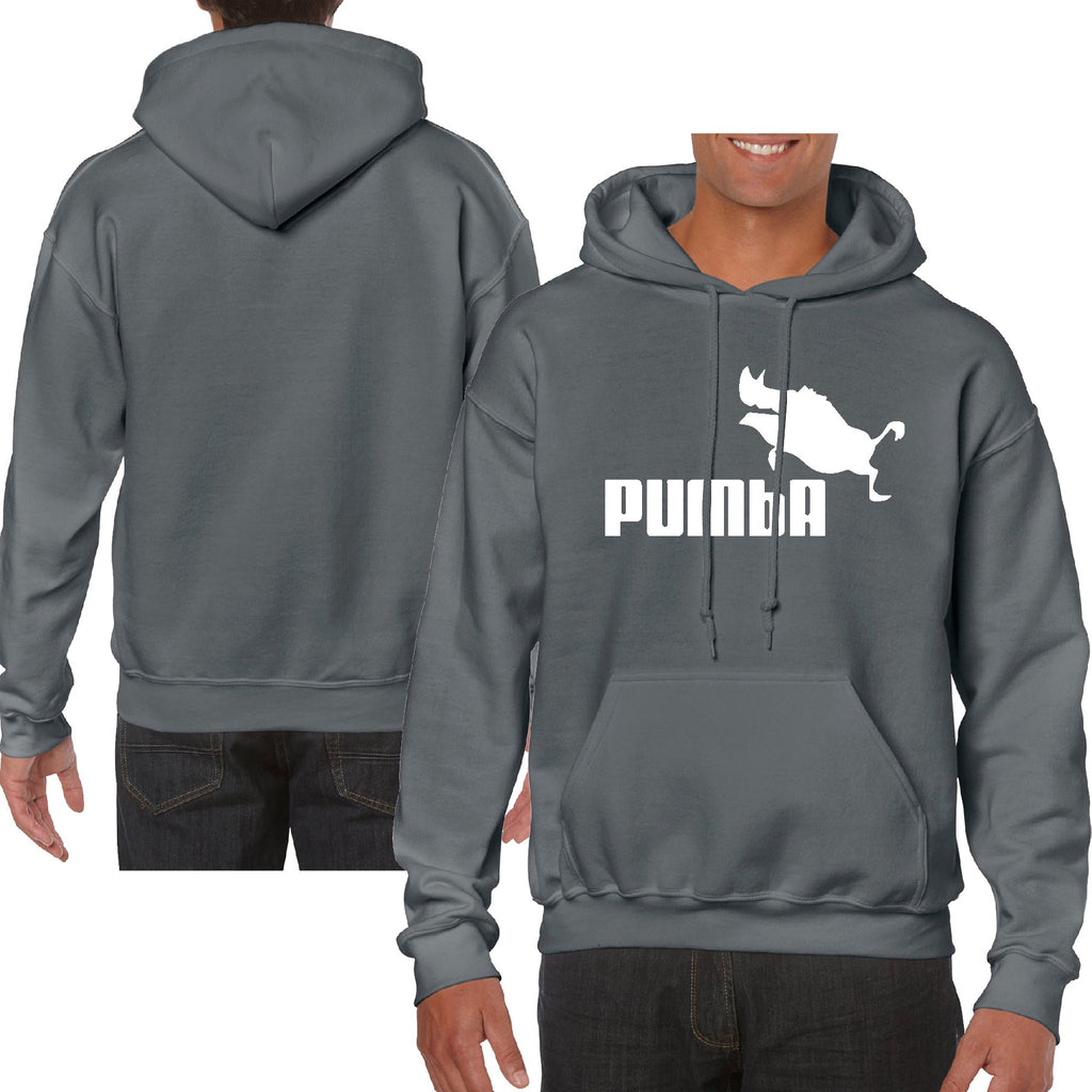 Funny Pumba logo lion king Heavy Blend Adult Hooded Sweatshirt