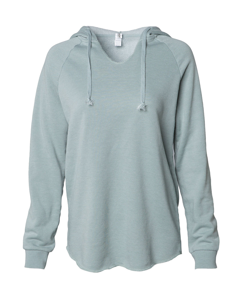 Independent Women's Lightweight California Wave Wash Hood PRM2500 - guyos apparel.com