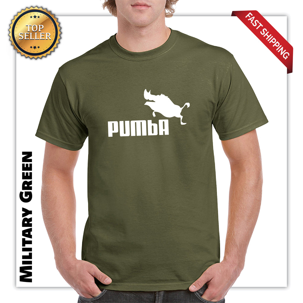 Pumba Mens Graphic T-Shirt