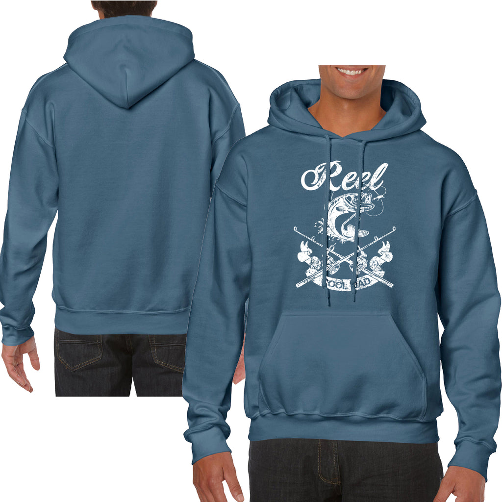 Hoodie Reel Cool Dad Father's Day Gift Great Fishing Hooded HQ