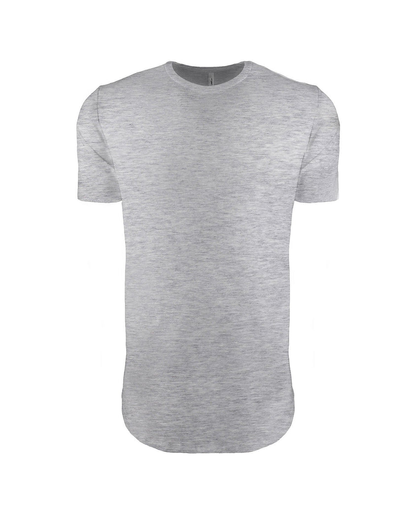 Next Level Men's Cotton Long Body Crew Tee NL3602 - guyos apparel.com