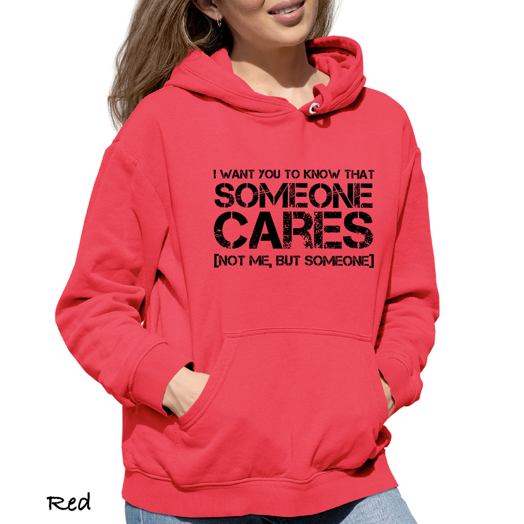 Woman's Hoodie SOMEONE CARE FOR YOU Funny Mom Dad Brother Sister Gift Hooded Sweatshirt