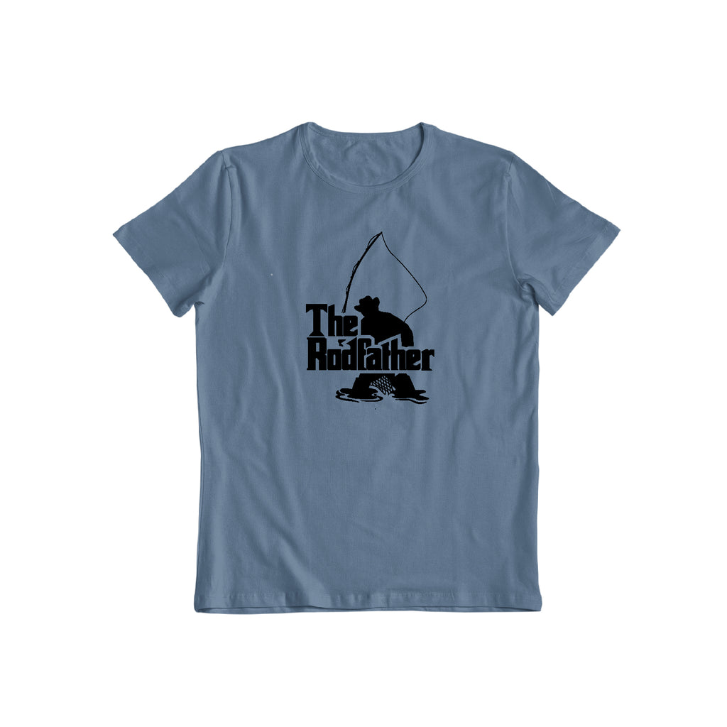 the rod-father Funny fishing t shirt