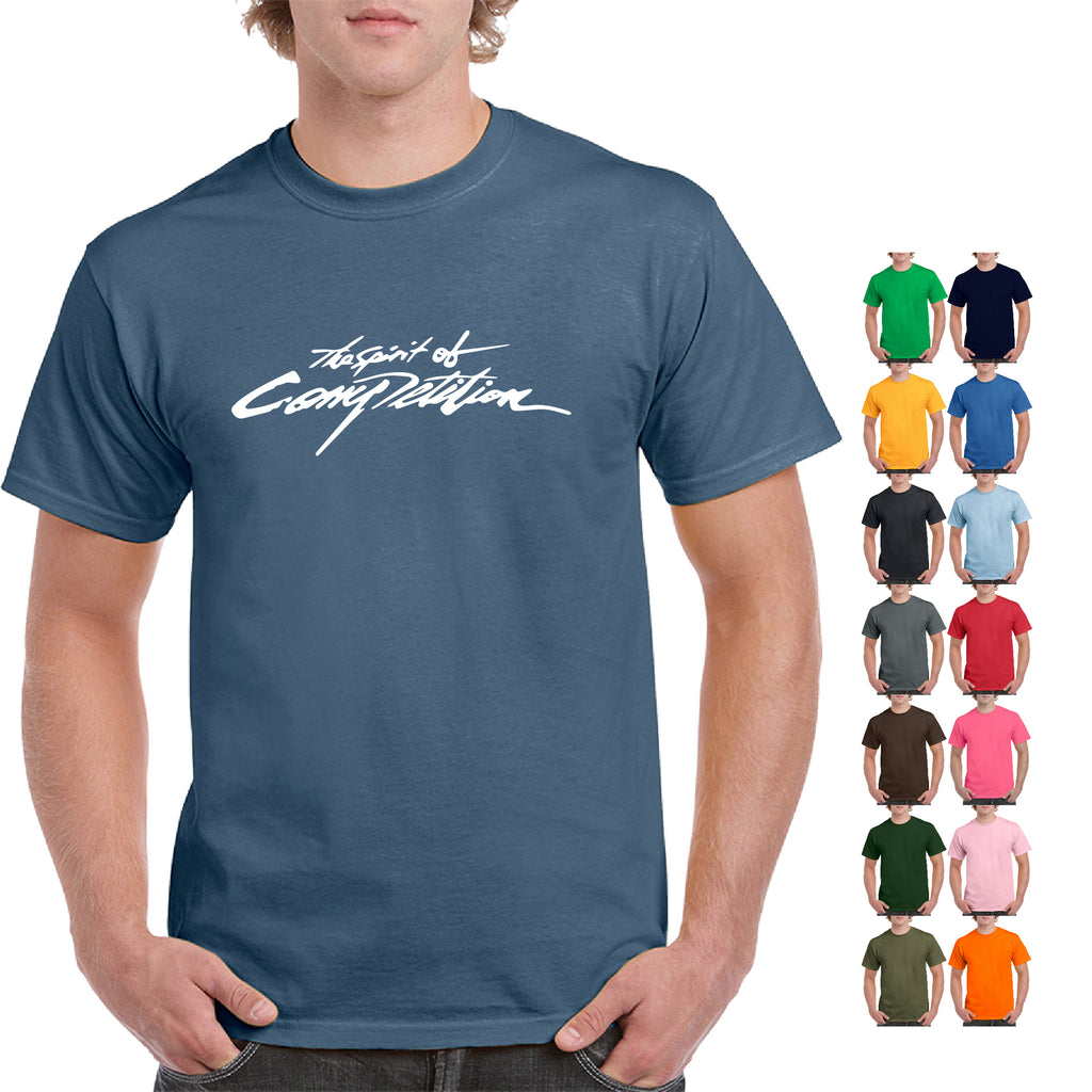 the spirit of competition T Shirt Car Parts Engine Tee street race car - guyos apparel.com