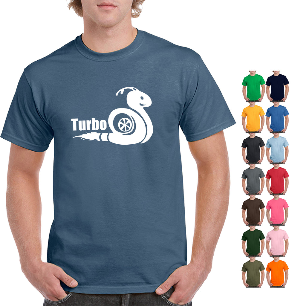 Boost Mechanic T Shirt Car Parts Funny Turbo snail Engine Tee street race car - guyos apparel.com