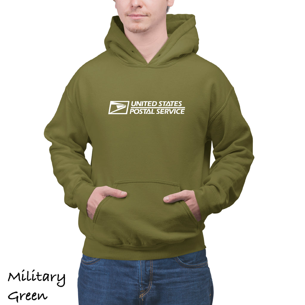 Unisex USPS Postal Service casual Tee post Office Hooded Sweatshirt (S-3XL)