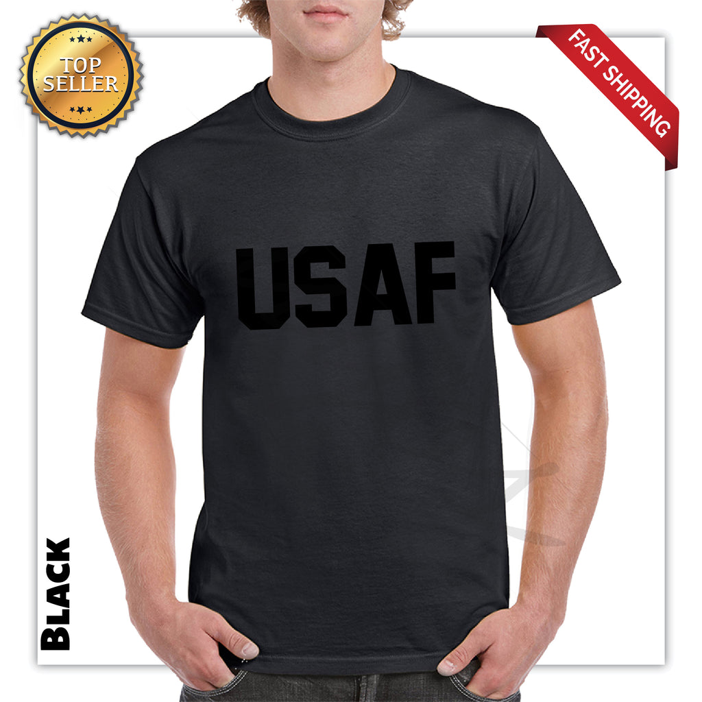USAF Printed Men's Graphic T-Shirt