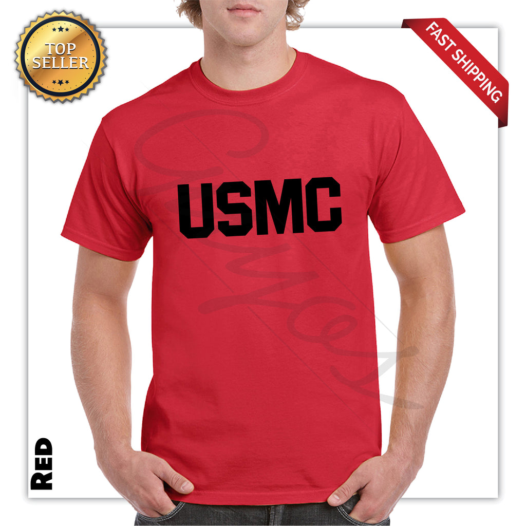 USMC Printed Men's Graphic T-Shirt